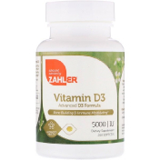 Zahler Vitamin D3 Advanced D3 Formula 5 000 IU 250 Softgels (Discontinued Item)