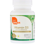 Zahler Zahler Vitamin D3 Advanced D3 Formula 2 000 IU 120 Softgels (Discontinued Item)