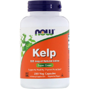 Now Foods Kelp 250 Veg Capsules