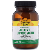 Country Life Time Release Active Lipoic Acid 300 mg 60 Tablets