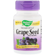 Nature's Way Grape Seed with Vitamin C Standardized 30 Veg. Capsules