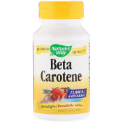 Nature's Way Beta Carotene 25 000 IU 100 Softgels