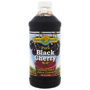 Dynamic Health  Laboratories Pure Black Cherry 100% Juice Concentrate Unsweetened 16 fl oz (473 ml)