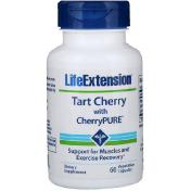 Life Extension Tart Cherry with CherryPure 60 Vegetarian Capsules