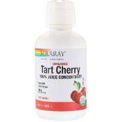 Solaray Organic Tart Cherry 100% Juice Concentrate 16 fl oz (473 ml)