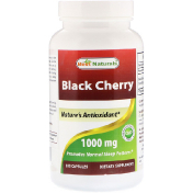 Best Naturals Black Cherry 1000 mg 180 Capsules