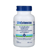 Life Extension Endothelial Defense with Pomegranate Complete and Cordiart 60 Softgels