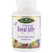 Paradise Herbs Golden Emperor Royal Jelly 60 Vegetarian Capsules