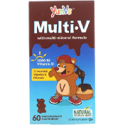 Yum-V's Multi V with Multi-Mineral Formula Milk Chocolate Flavor 60 Bears