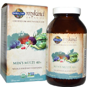 Garden of Life KIND Organics Men's Multi 40+ 120 веганских таблеток