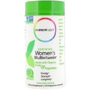 Rainbow Light Certified Women's Multivitamin 120 вегетарианских капсул