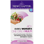New Chapter 40+ Every Woman's One Daily Multi 72 Vegetarian Tablets