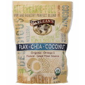 Barlean's Raw Energy Flax-Chia-Coconut blend 12oz pouch