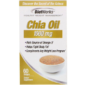DietWorks Chia Oil 1 000 mg 60 Softgels