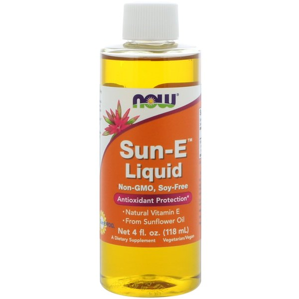 Now Foods Sun-E Liquid 18 800 IU 4oz