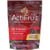 Enzymatic Therapy ActiFruit Cranberry Fruit Chew 20 Soft Chews