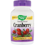 Nature's Way Cranberry Standardized 120 Vegetarian Capsules