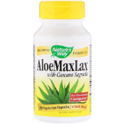 Nature's Way AloeMaxLax with Cascara Sagrada 100 Vegetarian Capsules