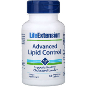 Life Extension Advanced Lipid Control 60 Vegetable Capsules