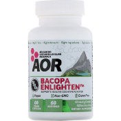 Advanced Orthomolecular Research AOR Bacopa Enlighten 60 веганских капсул