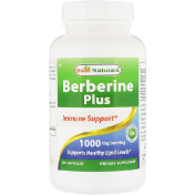 Best Naturals Berberine Plus 1000 mg/Serving 120 Capsules