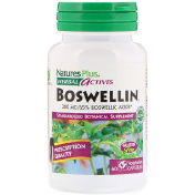 Nature's Plus Herbal Actives Boswellin 300 mg 60 Vegetarian Capsules