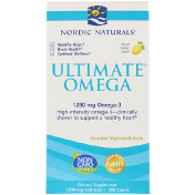 Nordic Naturals Ultimate Omega вкус лимона 1 280 мг 180 мягких капсул