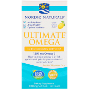 Nordic Naturals Ultimate Omega вкус лимона 1000 мг 60 мягких капсул