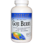 Planetary Herbals Ягоды годжи 700 мг 180 капсул