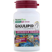 Nature's Plus Herbal Actives Gugulipid Extended Release 1 000 mg 30 Vegetarian Tablets