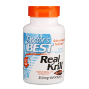 Doctor's Best Real Krill 350 мг 60 гелевых капсул