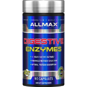 ALLMAX Nutrition Digestive Enzymes + Protein Optimizer 90 Capsules
