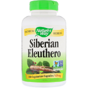Nature's Way Siberian Eleuthero 425 mg 180 Vegetarian Capsules