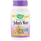 Nature's Way St. John's Wort Standardized 90 Veg. Capsules