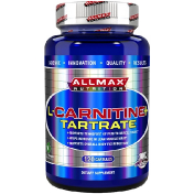 ALLMAX Nutrition L-Carnitine + Tartrate 120 Capsules