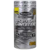 Muscletech Essential Series Platinum 100% Carnitine 500 mg 180 Capsules