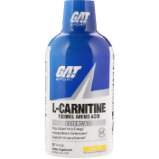 GAT L-Carnitine Amino Acid Lemon Blast 1500 mg 16 oz (473 ml)