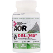 Advanced Orthomolecular Research AOR DGL-760 60 Vegan Capsules