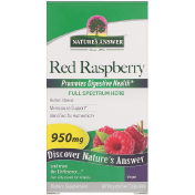 Nature's Answer Red Raspberry Rubus Idaeus 950 mg 90 Vegetarian Capsules