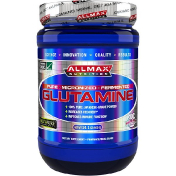 ALLMAX Nutrition 100% Pure Micronized Glutamine Gluten-Free + Vegan + Kosher Certified 14.1 oz (400 g)