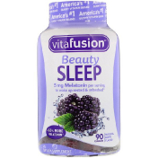 VitaFusion Beauty Sleep Natural Berry Flavor 90 Gummies