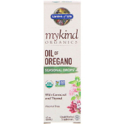 Garden of Life MyKind Organics Oil of Oregano Seasonal Drops 1 fl oz (30 mL)