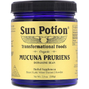 Sun Potion Organic Mucuna Pruriens Powder 3.5 oz (100 g)