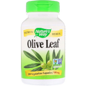 Nature's Way Olive Leaf 500 mg 100 Vegetarian Capsules