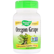 Nature's Way Oregon Grape 500 mg 90 Vegetarian Capsules