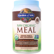 Garden of Life Raw Organic Meal Shake & Meal Replacement Chocolate Cacao 34.8 oz (986 g)