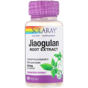 Solaray Jiaogulan Root Extract 410 mg 60 VegCaps