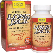 Natural Balance Long Jack PowerMax 200 60 вегетерианских капсул
