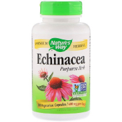 Nature's Way Echinacea Purpurea Herb 400 mg 180 Vegetarian Capsules
