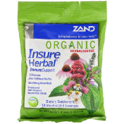 Zand Organic HerbaLozenge Insure Herbal 18 Mentholated Lozenges